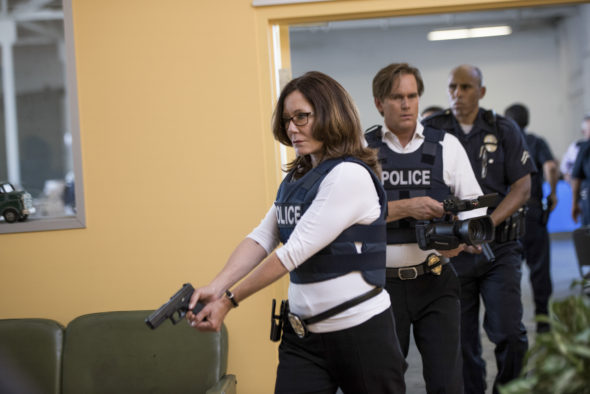 Major Crimes TV show on TNT: season 5B (canceled or renewed?) Major Crimes TV show on TNT: season 5B premiere (canceled or renewed?)