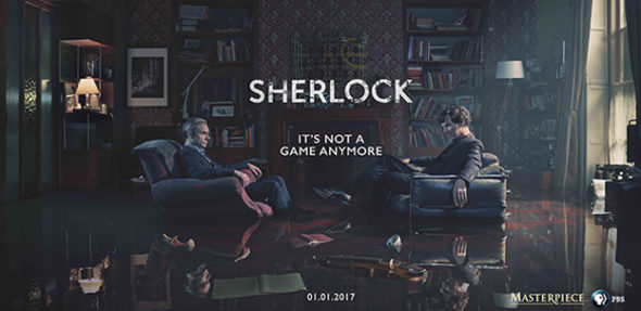 Sherlock TV show on PBS and BBC One: season 4 (canceled or renewed?) Sherlock season four finale to screen in theaters.