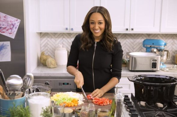 Tia Mowry At Home TV show on Cooking Channel: canceled or renewed?
