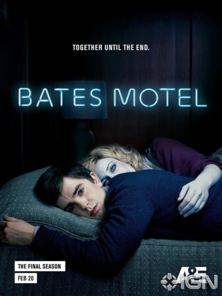 Bates Motel TV show on A&E: final fifth season. Bates Motel TV show on A&E: season 5 (canceled or renewed?) No season six.