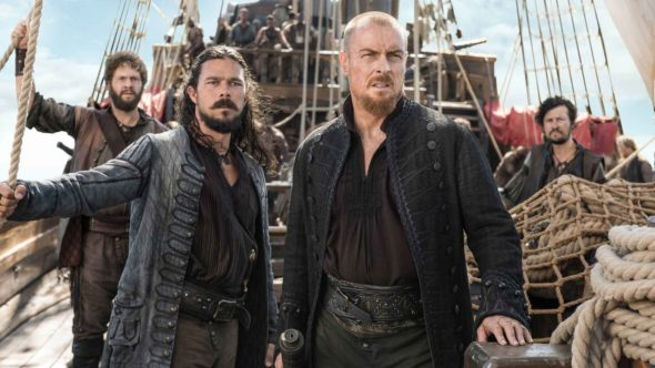 Black Sails TV show on Starz: canceled or season 5? (release date)