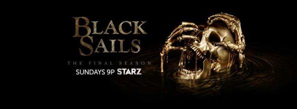 Black Sails TV show on Starz: ratings (final season, no season five)