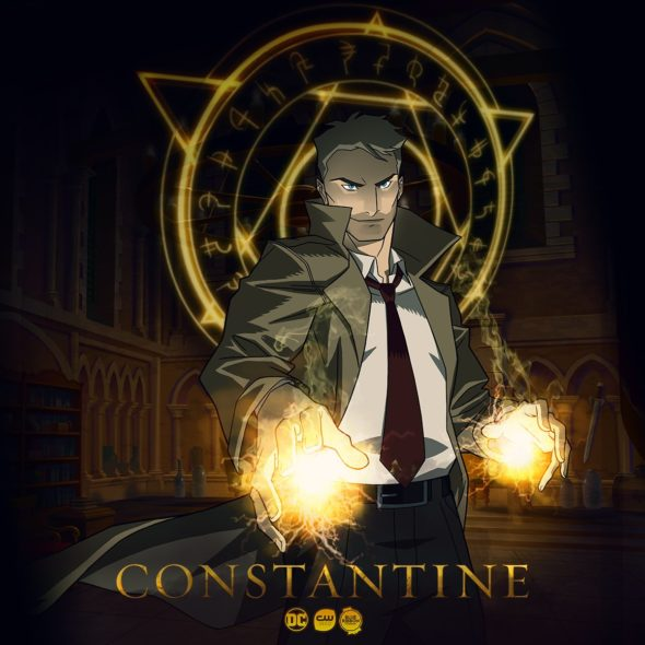 Constantine TV show on CW Seed