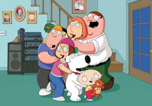 Family Guy TV show on FOX: season 15 (canceled or renewed?) Has the Family Guy TV show been canceled or renewed for season 15 on FOX? Is the Family Guy TV show canceled or renewed for season 15 on FOX?