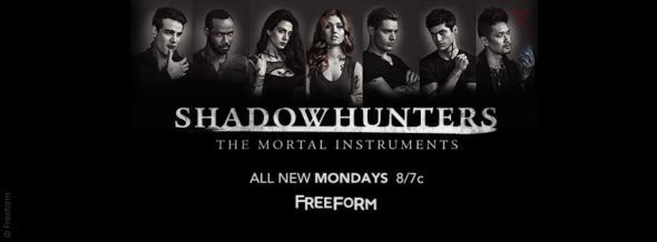 Shadowhunters TV show on Freeform: ratings (cancel or season 3?)
