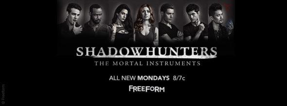 Shadowhunters TV show on Freeform: ratings (cancel or season 3?)