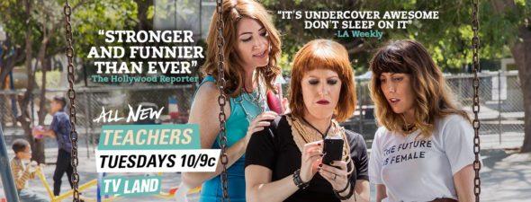 Teachers TV show on TV Land: ratings (cancel or season 3?)