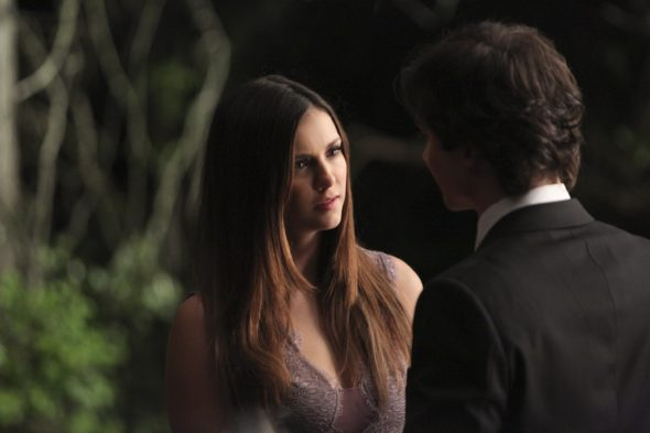 The Vampire Diaries TV show on The CW: season 8 (canceled or renewed?) Nina Dobrev to return for The Vampire Diaries TV series finale on The CW. The Vampire Diaries TV show on The CW: canceled, no season 9.