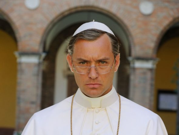 The Young Pope TV show on HBO: canceled or season 2? (release date)