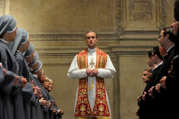 The Young Pope TV show on HBO (canceled or renewed?)