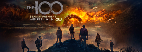 The 100 TV show on The CW: ratings (cancel or season 5?)