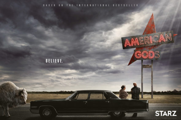 American Gods TV show on Starz: season 1 release date; premiere (canceled or renewed?)
