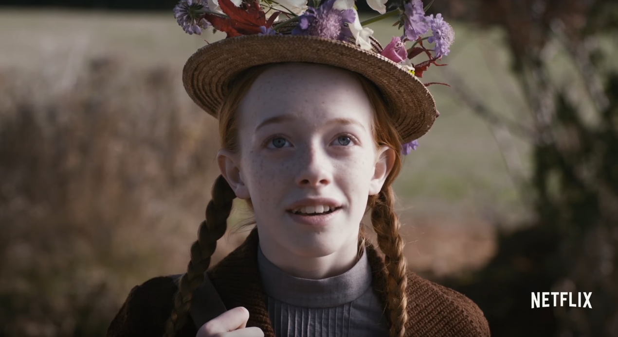 Anne netflix releases first look and premiere date for for Anne et la maison aux pignons verts film