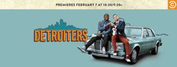 Detroiters TV show on Comedy Central: ratings (cancel or season 2?)