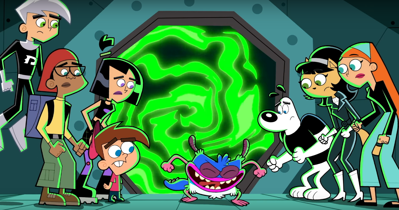 Danny Phantom Tuff Puppy Fairly Oddparents Nickelodeon