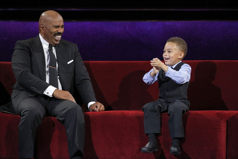 Little Big Kids Steve Harvey