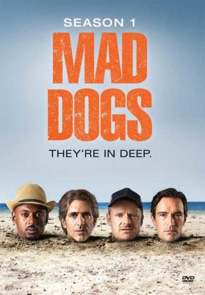 Cancelled Mad Dogs TV show on Amazon: season 1 released on DVD; no season 2