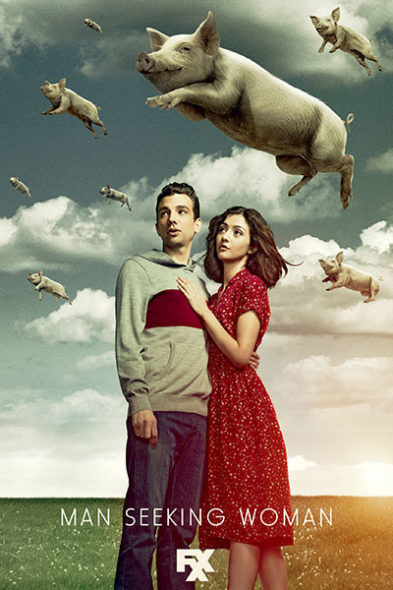 Man Seeking Woman TV show on FXX: canceled or season 4? (release date)
