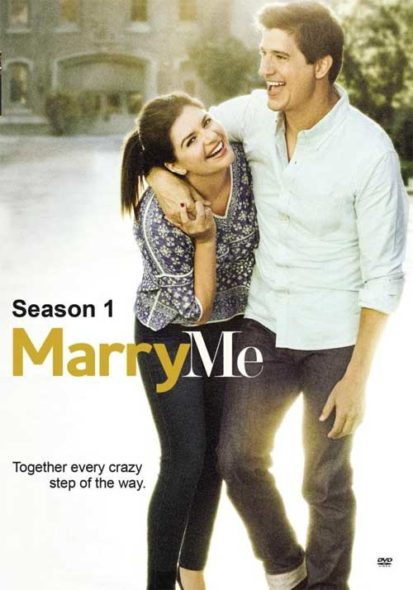 Released on DVD: Marry Me TV show on NBC: cancelled or renewed?