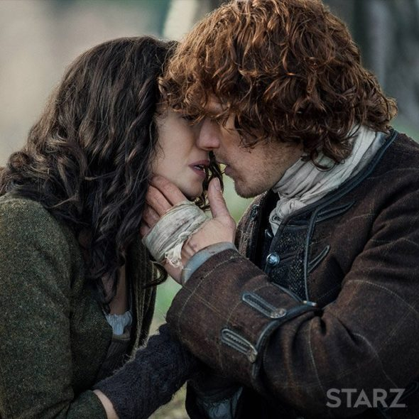 Outlander TV show on Starz: season 3 premiere release date (canceled or renewed?)