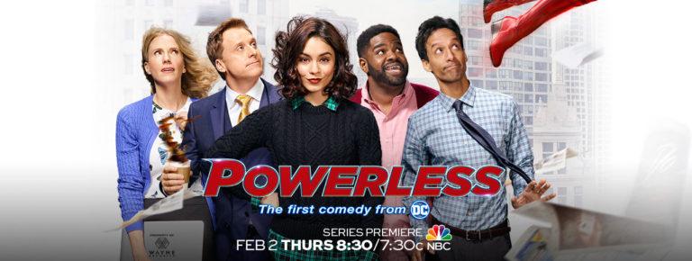 Powerless TV show on NBC: ratings (cancel or season 2?)