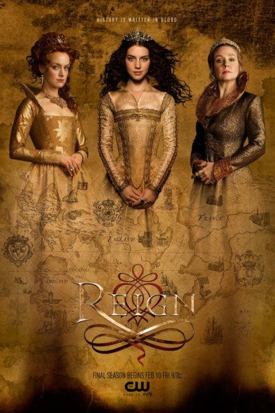 Reign TV show on The CW: canceled or season five? (release date)