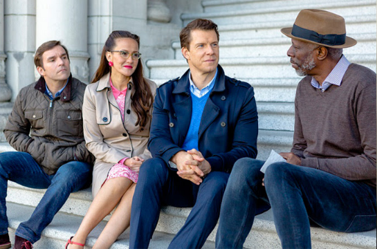 Signed, Sealed, Delivered: Higher Ground TV movie on Hallmark