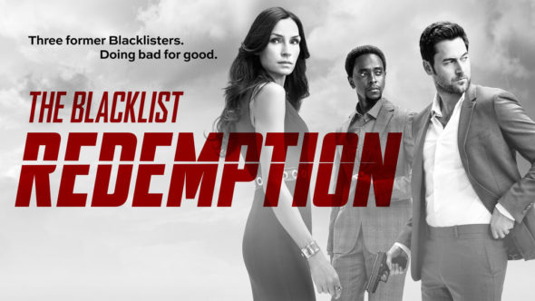 The Blacklist: Redemption TV show on NBC: ratings (canceled or season 2?)