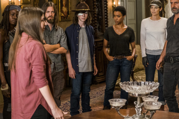 The Walking Dead TV show on AMC: canceled or season 8? (release date)
