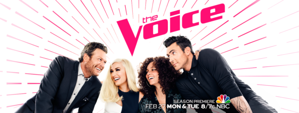 The Voice TV show on NBC (canceled or renewed?)