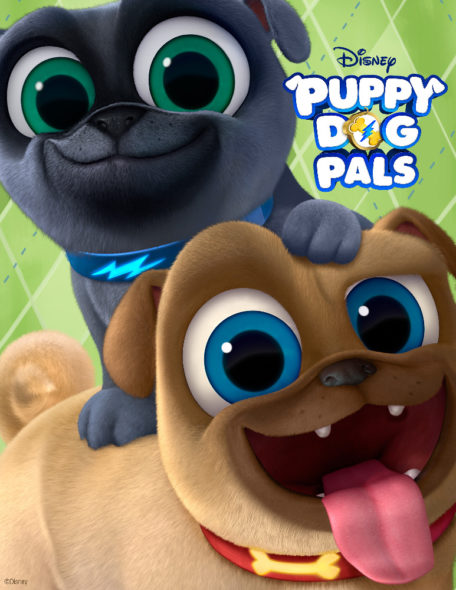 puppy dog pals new animated series coming to disney in april video canceled tv shows tv. Black Bedroom Furniture Sets. Home Design Ideas
