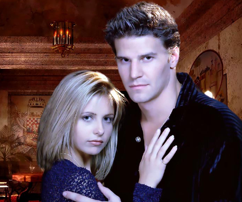 David Boreanaz on Buffy The Vampire Slayer