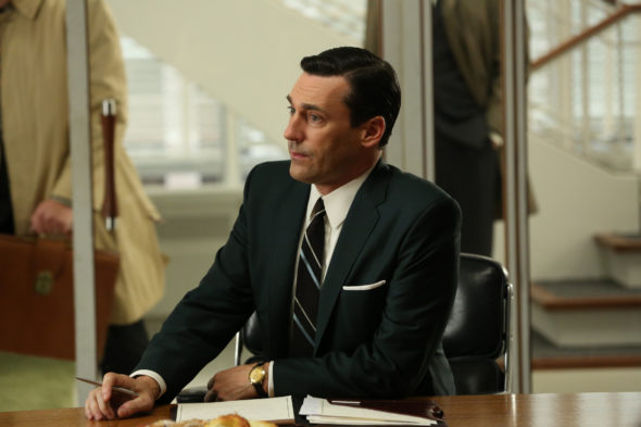 Mad Men TV show on AMC: canceled / ended no season 8.