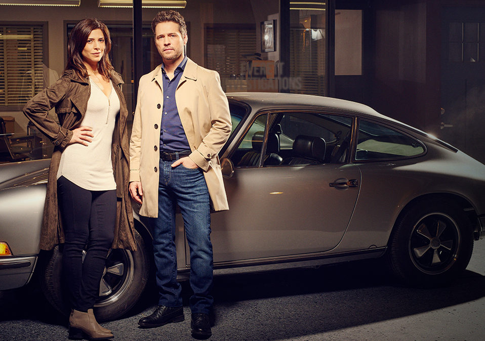 Private Eyes Tv Show On Ion Season One Canceled Tv