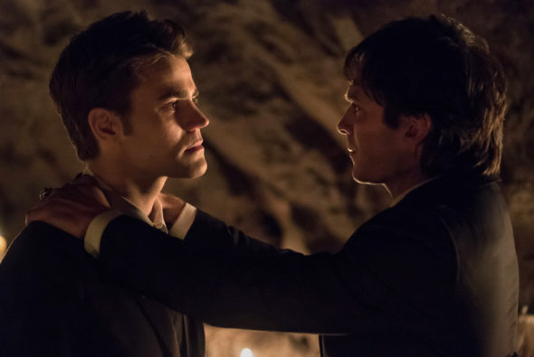 The Vampire Diaries TV show on The CW: spinoff (canceled or renewed?)