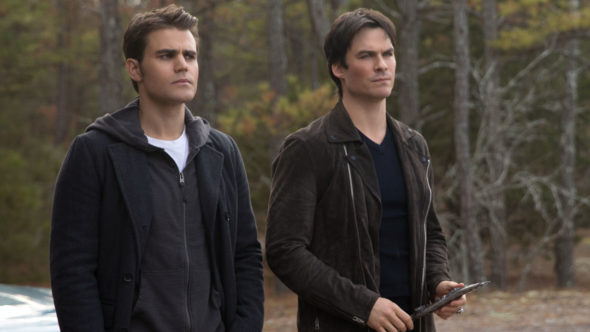 The Vampire Diaries TV show on The CW: canceled, no season 9 (canceled or renewed?)