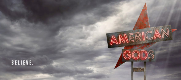 American Gods TV show on Starz: season 1 ratings (canceled or season 2 renewal?)