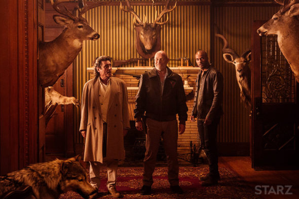 American Gods TV Show on Starz: canceled or renewed?