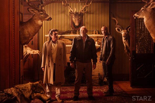 American Gods TV Show on Starz: canceled or renewed?
