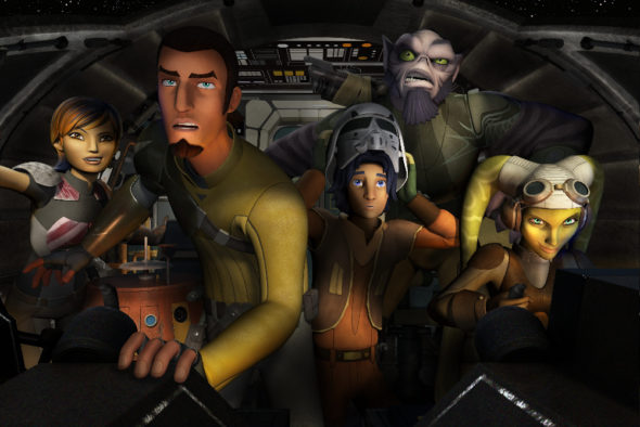 Star Wars Rebels TV Show on Disney XD: Season 4 (Canceled or Renewed?)