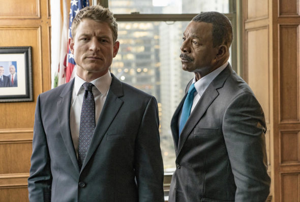 Chicago Justice TV show on NBC: canceled, no season two