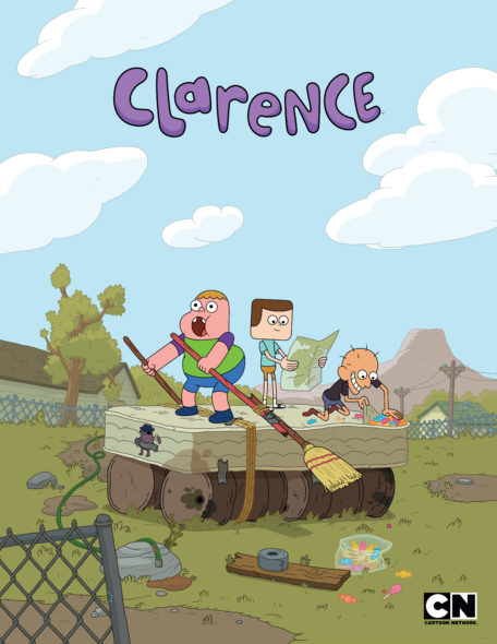 Clarence TV show on Cartoon Network: canceled, no season 4