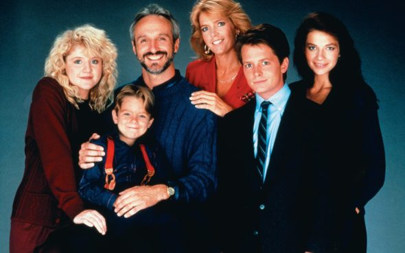 Family Ties TV Show: canceled or renewed?