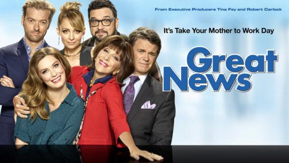 Great News TV Show on NBC: Season 1 Ratings (canceled or season 2 renewal?)