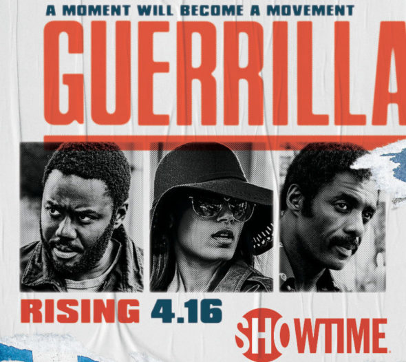 Guerilla TV show on Showtime: canceled or season 2?