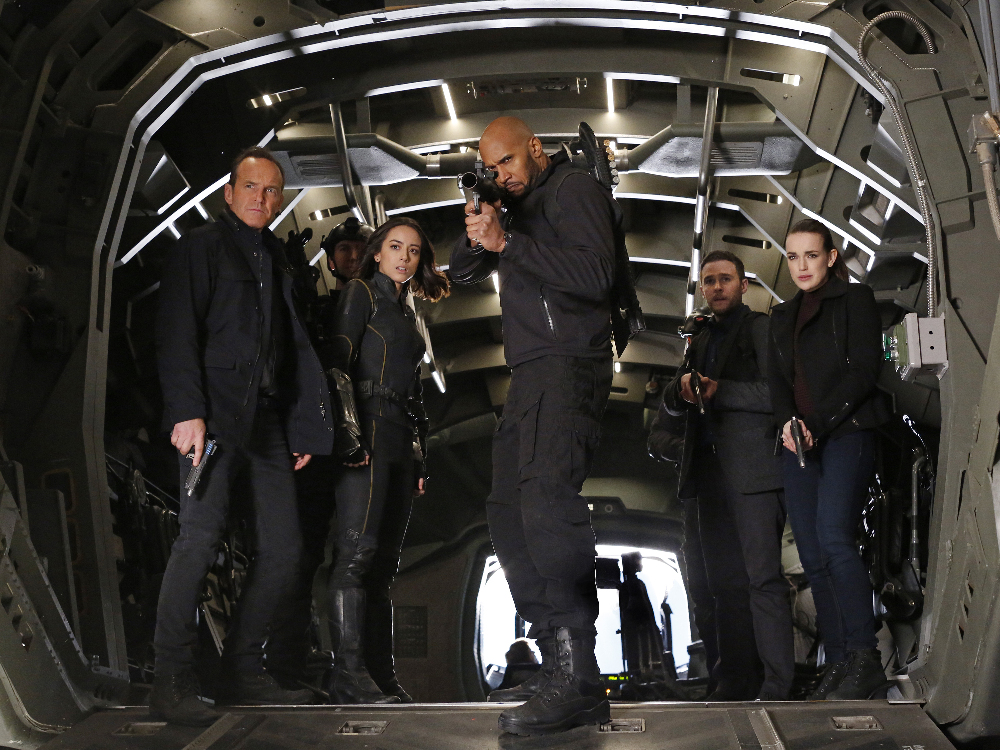 Burning Series Agents Of Shield