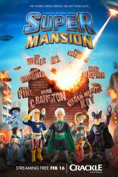 SuperMansion TV show on Crackle: Season 3 Renewal (Canceled or Renewed?)