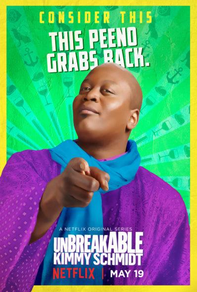 Unbreakable Kimmy Schmidt TV show on Netflix: season three key art (canceled or renewed for season 4?)