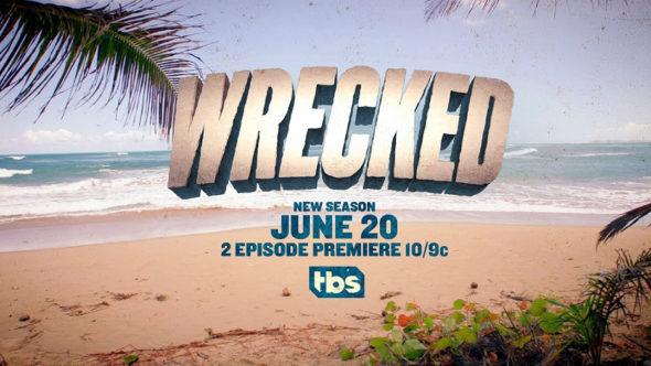 Wrecked TV show on TBS: season 2 ratings (canceled or season 3 renewal?)