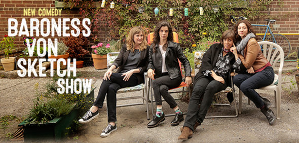 Baroness von sketch Show TV show on IFC: season 1 season 2 (canceled or renewed?)